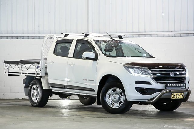 Used Holden Colorado RG MY18 LS Crew Cab West Gosford, 2017 Holden Colorado RG MY18 LS Crew Cab White 6 Speed Sports Automatic Cab Chassis