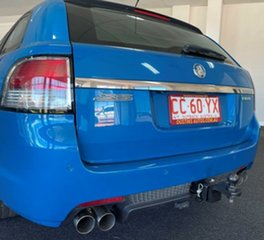 2013 Holden Commodore VE II MY12.5 SS Sportwagon Z Series Blue 6 Speed Manual Wagon