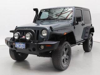 2014 Jeep Wrangler JK MY13 Sport (4x4) Grey 6 Speed Manual Softtop.
