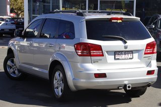 2011 Dodge Journey JC MY10 SXT Silver 6 Speed Automatic Wagon.