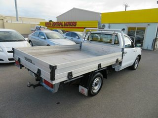 2014 Toyota Hilux TGN16R MY14 Workmate White 5 Speed Manual Cab Chassis