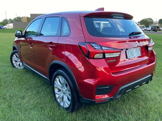 2019 Mitsubishi ASX XD MY20 LS 2WD Red 1 Speed Constant Variable Wagon