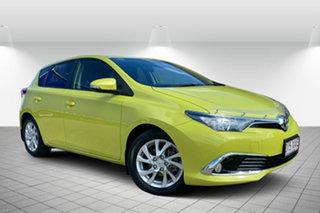 2016 Toyota Corolla ZRE182R Ascent Sport S-CVT Green 7 Speed Constant Variable Hatchback.