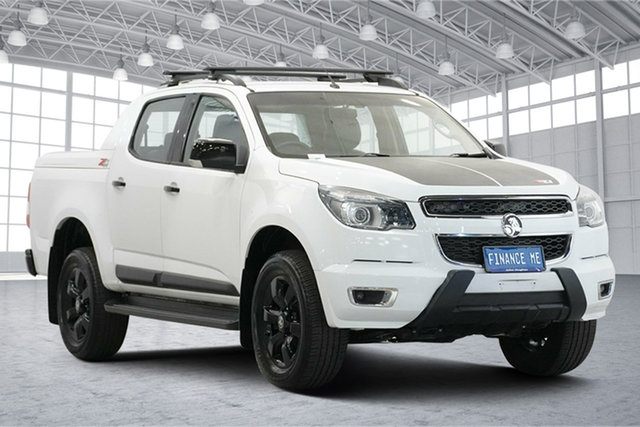 Used Holden Colorado RG MY17 Z71 Pickup Crew Cab Victoria Park, 2016 Holden Colorado RG MY17 Z71 Pickup Crew Cab White 6 Speed Sports Automatic Utility