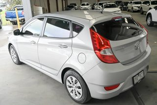 2016 Hyundai Accent RB3 MY16 Active Silver 6 Speed Manual Hatchback