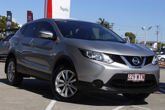Pre-Owned Nissan Qashqai J11 ST Albion, 2016 Nissan Qashqai J11 ST Silver 1 Speed Constant Variable Wagon