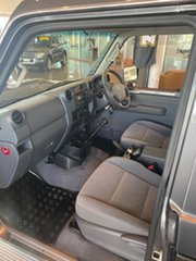 2017 Toyota Landcruiser VDJ79R GXL Grey/200217 5 Speed Manual Cab Chassis