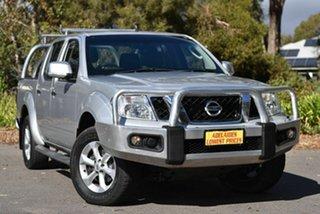 2013 Nissan Navara D40 S6 MY12 ST Silver 5 Speed Sports Automatic Utility.
