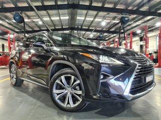 2016 Lexus RX350 GGL25R MY17 Luxury Black 8 Speed Automatic Wagon.