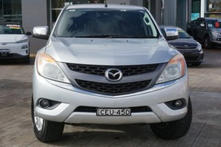 2012 Mazda BT-50 UP0YF1 XTR Silver 6 Speed Sports Automatic Utility.