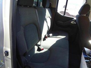 2011 Nissan Navara D40 Series 4 ST-X (4x4) Silver 5 Speed Automatic Dual Cab Pick-up