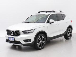2019 Volvo XC40 536 MY19 T4 Inscription (AWD) White 8 Speed Automatic Wagon.