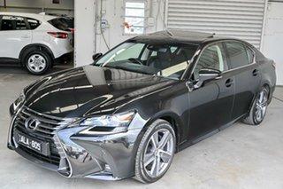 2016 Lexus GS ARL10R GS200t Luxury Black 8 Speed Sports Automatic Sedan