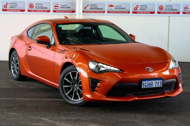 Pre-Owned Toyota 86 ZN6 MY17 GT Myaree, 2017 Toyota 86 ZN6 MY17 GT Velocity Orange 6 Speed Manual Coupe