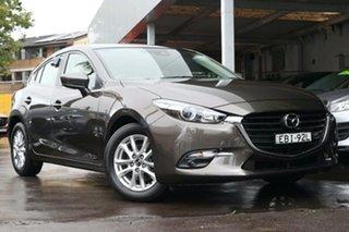 2018 Mazda 3 BN5478 Maxx SKYACTIV-Drive Sport Bronze 6 Speed Sports Automatic Hatchback.