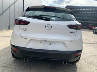 2021 Mazda CX-3 DK4W7A sTouring SKYACTIV-Drive i-ACTIV AWD Snowflake White 6 Speed Sports Automatic