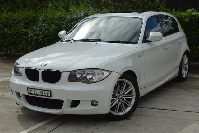 Used BMW 123d E87 MY10 123d Maitland, 2010 BMW 123d E87 MY10 123d White 6 Speed Manual Hatchback