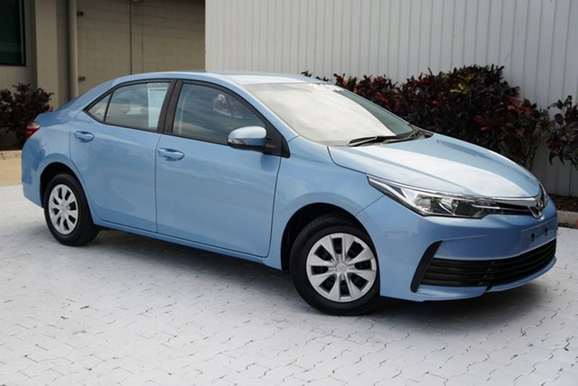 Used Toyota Corolla ZRE172R Ascent S-CVT Cairns, 2017 Toyota Corolla ZRE172R Ascent S-CVT Blue 7 Speed Constant Variable Sedan