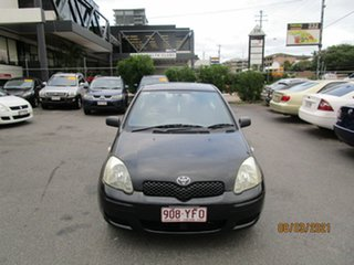 2004 Toyota Echo NCP10R Black 4 Speed Automatic Hatchback.