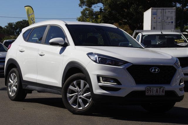 Used Hyundai Tucson TL4 MY20 Active 2WD Toowoomba, 2019 Hyundai Tucson TL4 MY20 Active 2WD White 6 Speed Automatic Wagon