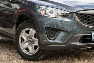 2012 Mazda CX-5 KE1071 Maxx SKYACTIV-Drive Metropolitan Grey 6 Speed Sports Automatic Wagon.