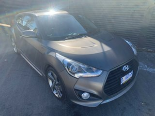 2012 Hyundai Veloster FS2 SR Coupe Turbo Matte Gunmetal Grey/ 6 Speed Manual Hatchback.