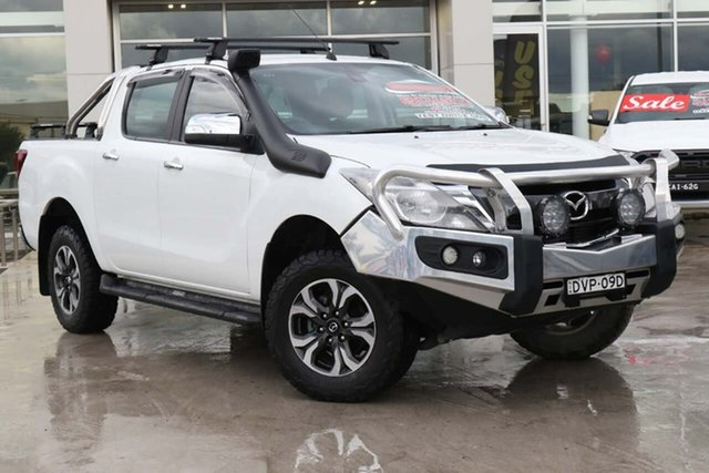 Used Mazda BT-50 UR0YG1 GT Liverpool, 2017 Mazda BT-50 UR0YG1 GT Cool White 6 Speed Sports Automatic Utility