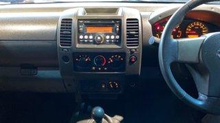 2008 Nissan Navara D40 ST-X Silver 6 Speed Manual Utility