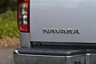 2013 Nissan Navara D40 S6 MY12 ST Silver 5 Speed Sports Automatic Utility