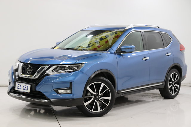 Used Nissan X-Trail T32 Series II Ti X-tronic 4WD Brooklyn, 2019 Nissan X-Trail T32 Series II Ti X-tronic 4WD Blue 7 Speed Constant Variable Wagon