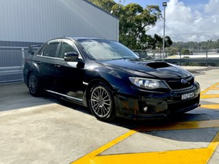 2012 Subaru Impreza G3 MY12 WRX AWD Black 5 Speed Manual Hatchback.