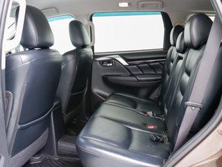 2015 Mitsubishi Pajero Sport QE Exceed (4x4) Brown 8 Speed Automatic Wagon