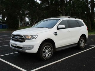 2017 Ford Everest UA Turbo Trend White Automatic SUV.