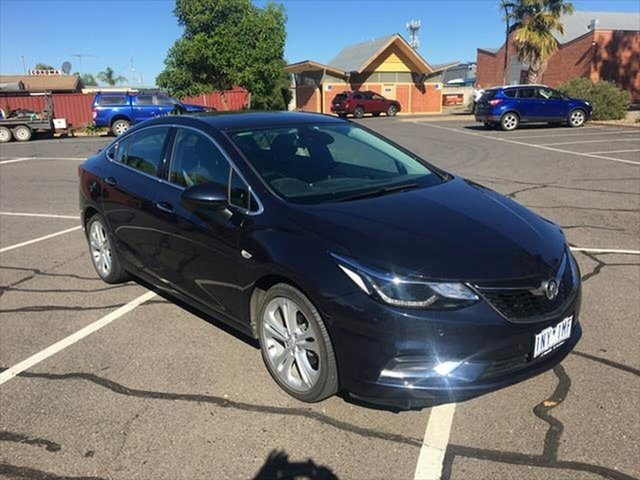 Used Holden Astra BL MY18 LTZ Yarrawonga, 2018 Holden Astra BL MY18 LTZ Blue 6 Speed Sports Automatic Sedan