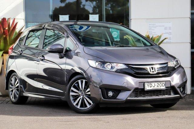 Used Honda Jazz GF MY16 VTi-L Sutherland, 2016 Honda Jazz GF MY16 VTi-L Black 1 Speed Constant Variable Hatchback