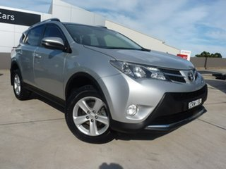 2014 Toyota RAV4 ZSA42R MY14 GXL 2WD Silver Sky 7 Speed Constant Variable Wagon