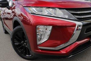 2019 Mitsubishi Eclipse Cross YA MY20 Black Edition 2WD Red Diamond 8 Speed Constant Variable Wagon.