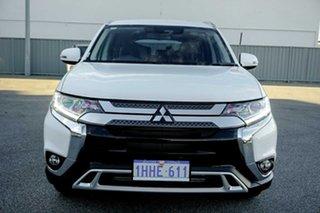 2020 Mitsubishi Outlander ZL MY21 LS AWD White 6 Speed Sports Automatic Wagon.