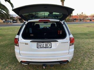 2014 Ford Territory SZ Titanium Seq Sport Shift White 6 Speed Sports Automatic Wagon