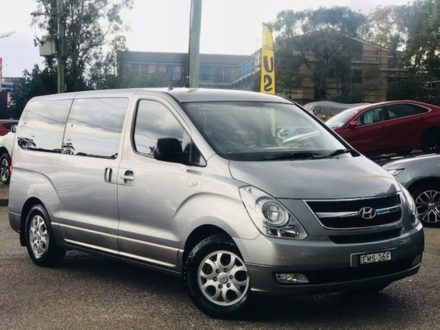 Used Hyundai iMAX TQ-W MY15 Liverpool, 2014 Hyundai iMAX TQ-W MY15 Grey 4 Speed Automatic Wagon