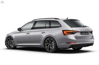 2021 Skoda Superb NP MY21 206TSI DSG SportLine Silver 6 Speed Sports Automatic Dual Clutch Wagon.