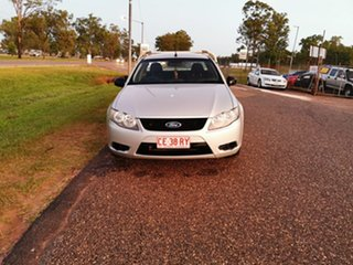 2010 Ford Falcon FG Super Cab Silver 5 Speed Sports Automatic Cab Chassis