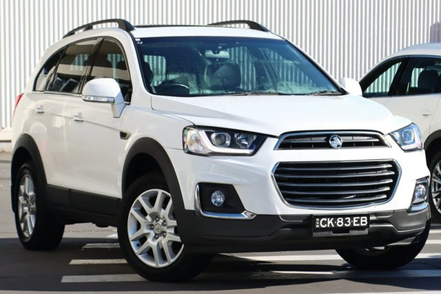 Used Holden Captiva CG MY17 Active 2WD Wollongong, 2016 Holden Captiva CG MY17 Active 2WD White 6 Speed Sports Automatic Wagon