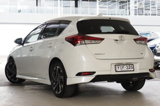 2018 Toyota Corolla ZRE182R ZR S-CVT White 7 Speed Constant Variable Hatchback.