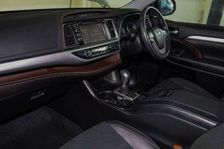 2019 Toyota Kluger GSU50R Black Edition 2WD Silver 8 Speed Sports Automatic Wagon