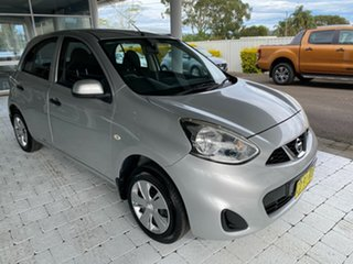 2015 Nissan Micra ST Silver Automatic Hatchback