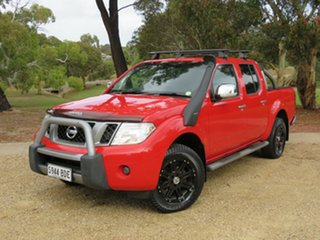 2014 Nissan Navara D40 S7 Titanium Red 6 Speed Manual Utility.