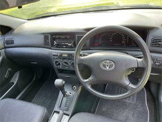2002 Toyota Corolla ZZE122R Ascent Seca Blue 4 Speed Automatic Hatchback