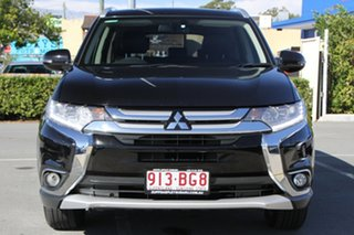2016 Mitsubishi Outlander ZK MY16 Exceed 4WD Black 6 Speed Constant Variable Wagon