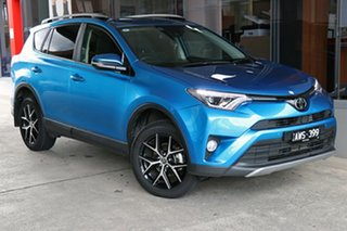2018 Toyota RAV4 ASA44R GXL AWD Blue 6 Speed Sports Automatic Wagon.